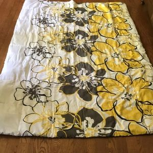 Other - Yellow/grey twin comforter/pillow case set